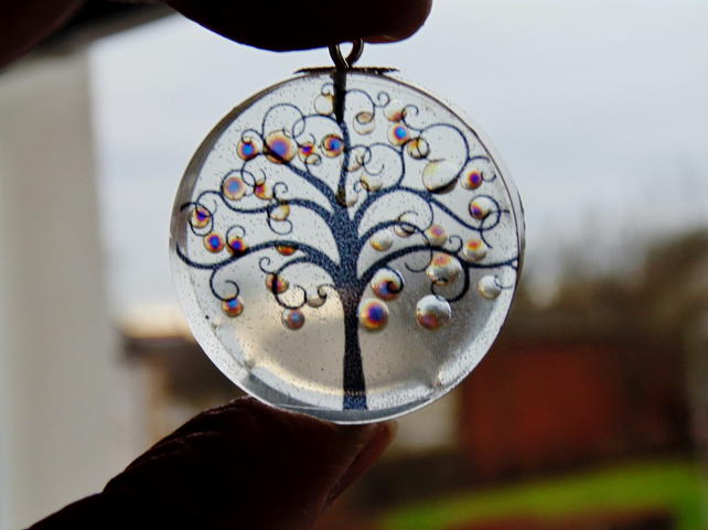 Tree Pendant, Winter Tree Pendant, Tree of Life Necklace