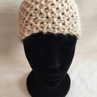 100% merino wool hand knitted headband