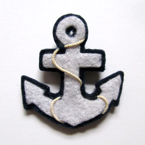 Hello Sailor! Felt Brooch