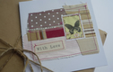 Handmade stitched cards