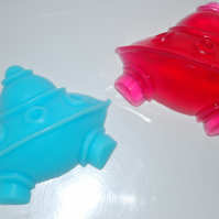 Flying Saucer UFO Alien Spaceship Soap