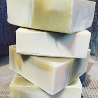 Lemongrass & Spearmint Handmade Cold Process Soap - The Treehugger