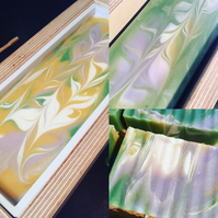 Lime & Peppermint Handmade Soap