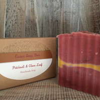 Patchouli & Clove Leaf Oil Handmade Cold Process Soap