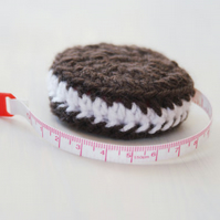 Novelty Cookie Tape Measure Knitting, Crochet, Sewing