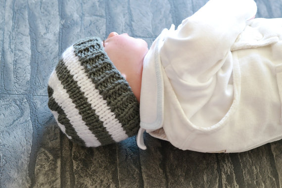Baby Girls Boys Chunky Knitted Beanie Winter Hat Colour Chart