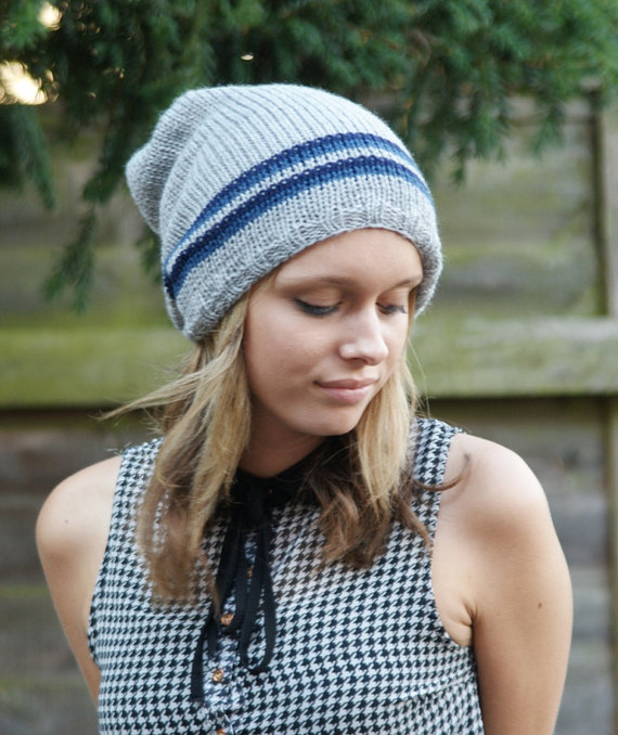 42be3b946a7b Slouch Hat, Mens Slouchy Hat, Womens Slouchy Ha... - Folksy
