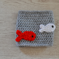Dads,Boyfriend, Friend Fish Beer Cozy, Fathers Day, Birthday