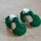 Boys Newborn Crochet Bottle Green T Bar Summer Baby Sandals
