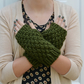 Unisex Super Chunky Knitted Fingerless Gloves