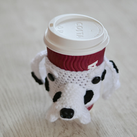 Dalmation Coffee Cozy,  Beer Cozy,  Can Cosie, Other Dogs Made to Order