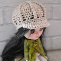 Dolls NewsBoy Hat, Stone Baker Boy