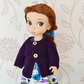 "16"" Dolls Pale Purple Knitted Cardigan"