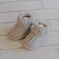 Newborn Girls Boys Knitted Boots Baby Booties