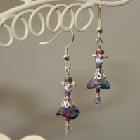 Fairy flower earrings
