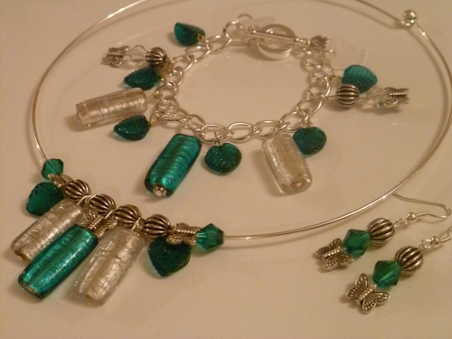 It's a Teal Jewellery Set