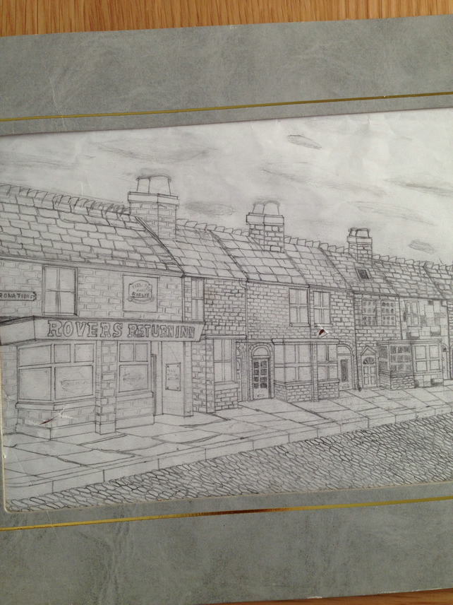 Coronation street drawing