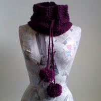 Polly Cowl - Bramble