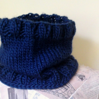 The Boyfriend Neckwarmer - Navy