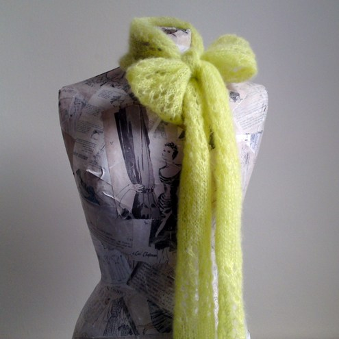 Grace Scarf - Lime