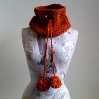 SALE Polly Cowl - Ginger Snap
