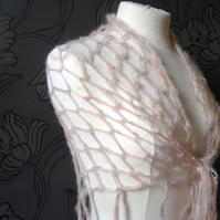 Love Heart Shawl - BOO BOO SALE!