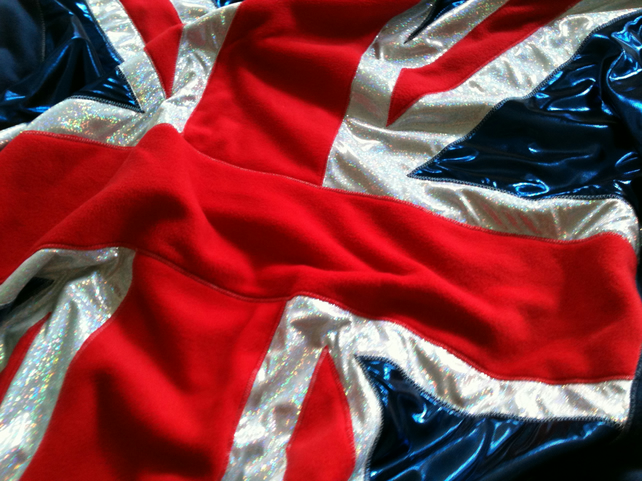 Jubilee Union Jack bedspread throw