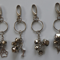 Jake's Jingle Walkies Bells Key Ring for Partially Sighted or Blind Dogs