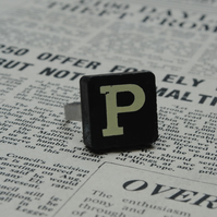 Keyword Ring - Letter P