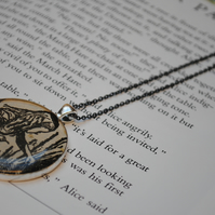 Alice in Wonderland Necklace