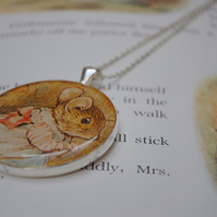 Mrs Tittlemouse Necklace