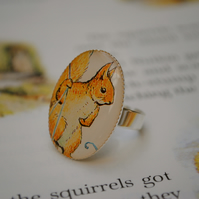 Squirrel Nutkin Ring