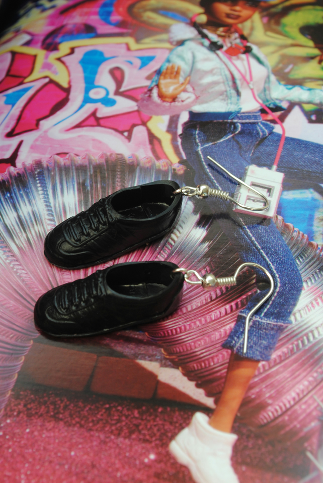 Barbie Shoe Earrings