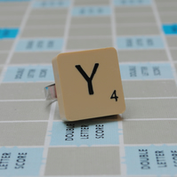 Scrabble Ring - Letter Y
