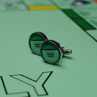 Monopoly Property Cufflinks