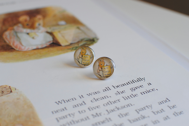 Mrs Tittlemouse Earrings