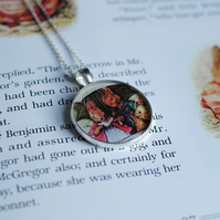 Beatrix Potter Stamp Necklace