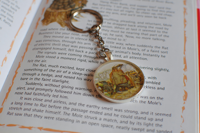 Wind in the Willows Keyring