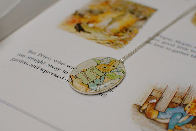 Beatrix Potter Character Necklace