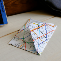 5 London Underground Map Envelopes