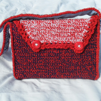Handbag - Red, White, Blue