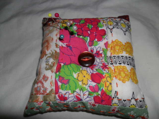 Pin Cushion Patchwork