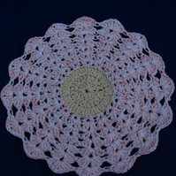 Doily Coaster Crochet Circle
