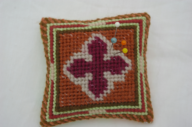Pin Cushion Celtic Cross