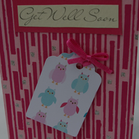 Card Get Well Soon Handmade Card