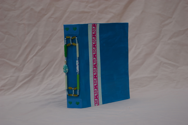 Note Book or Journal Handmade in Blue