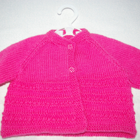 Knitting Pattern Baby Cardigan Boy and Girl