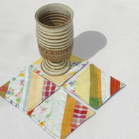 Patchwork Coasters Set of Four