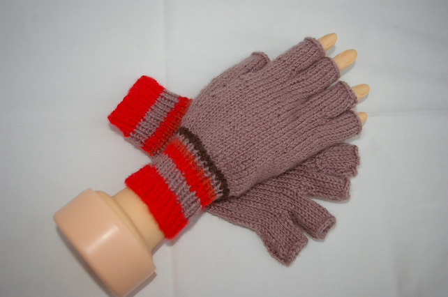 Adult Half Finger Gloves