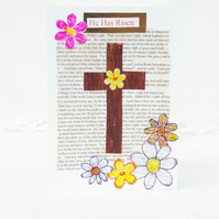 Easter Card Traditional Christian Religious Easter card